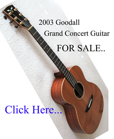 2003 Goodall Grand Concert Acoustic Guitar For Sale link button