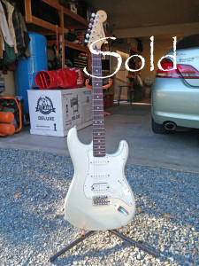 Rdawg Rescure 2011 MX Fat Strat at Fire River Music Grants Pass